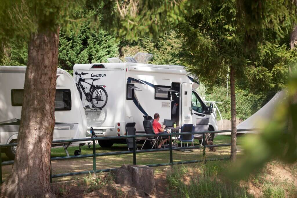Camping Hitjesvijver - mobile home pitches
